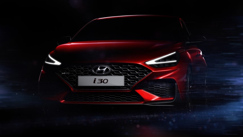 Hyundai Teases i30 Facelift, to Debut at Geneva Motor Show