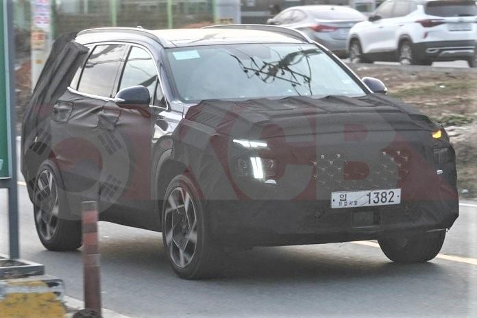 Hyundai Santa Fe Facelift to Use 3rd Gen Platform