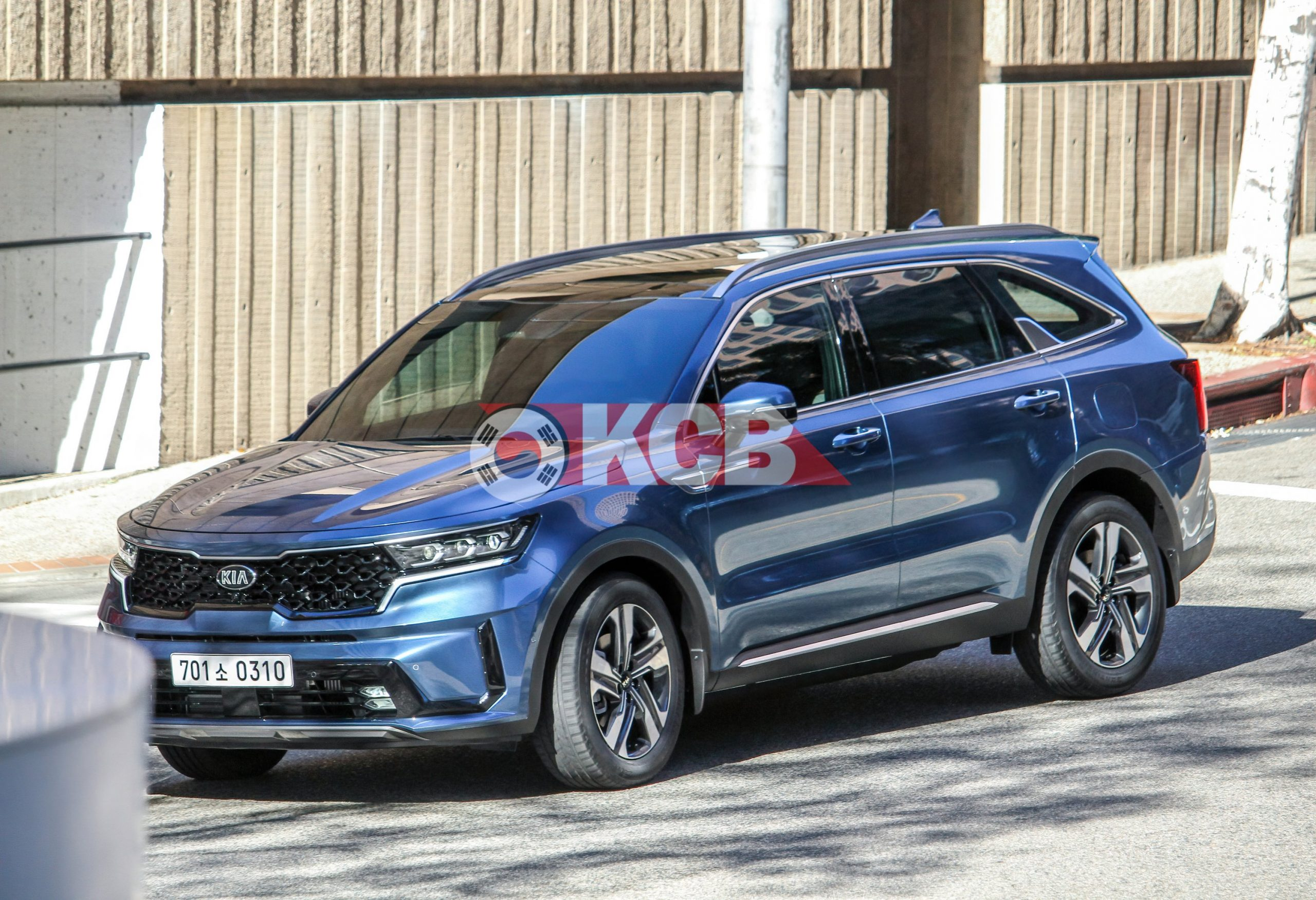 Kia Sorento Spied During Photoshoot