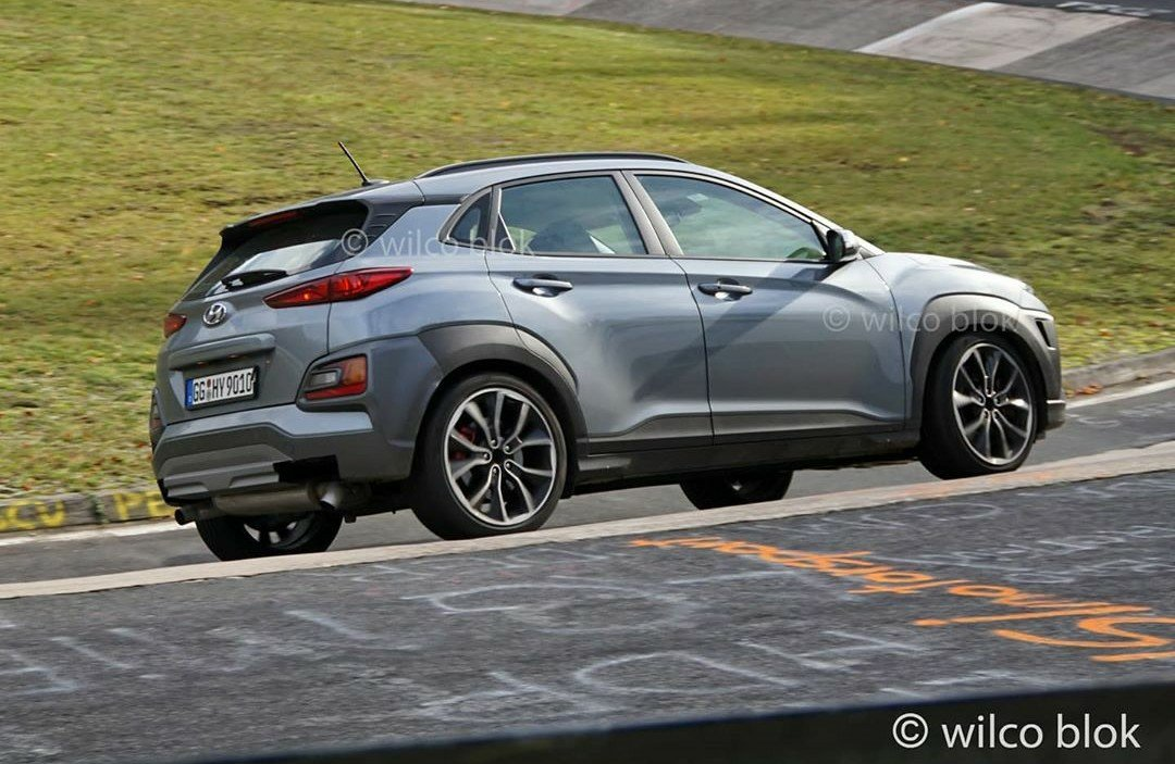 Hyundai Kona N Prototype Spied at the Ring