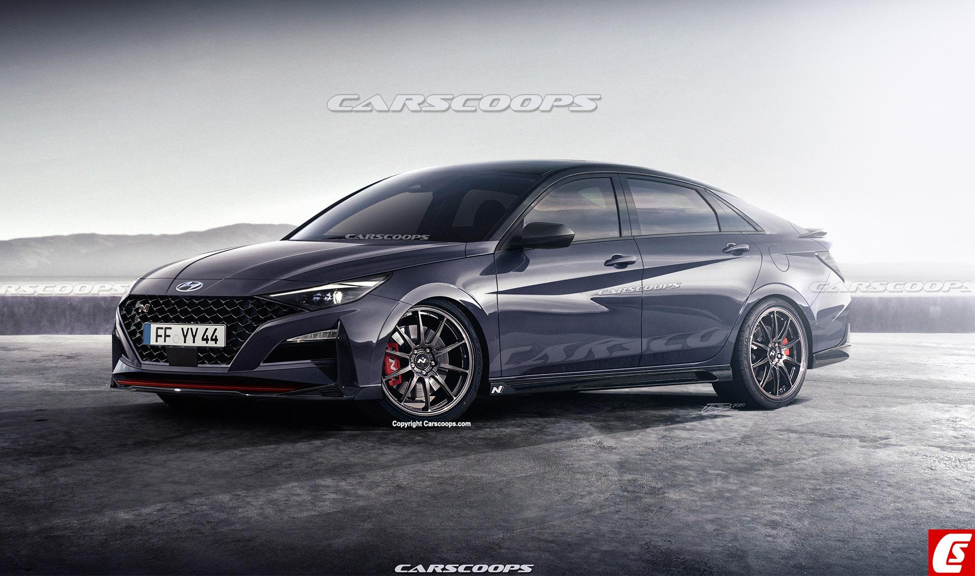 The Most Realistic Hyundai Elantra N Rendering