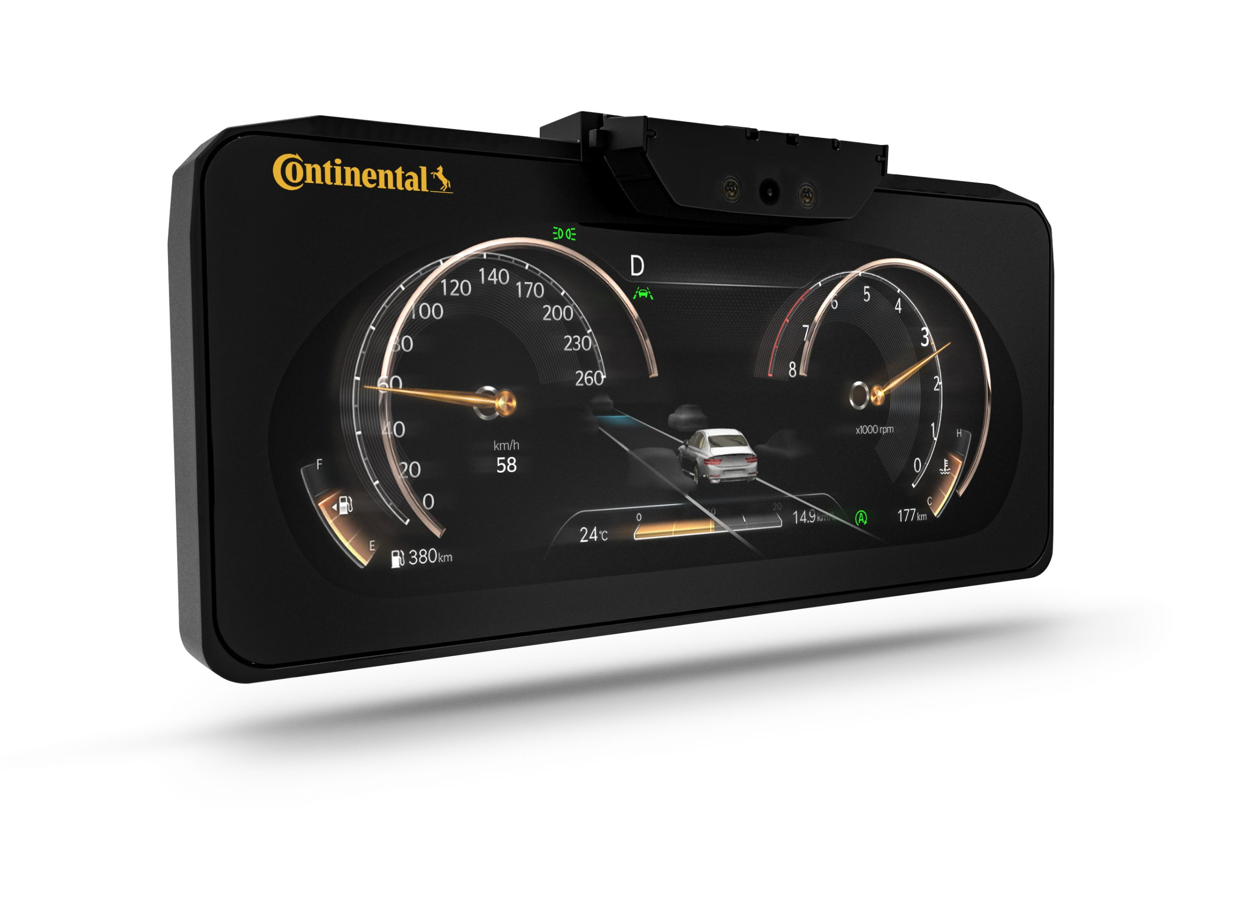Continental Brings 3D Cluster for Genesis GV80 & G80