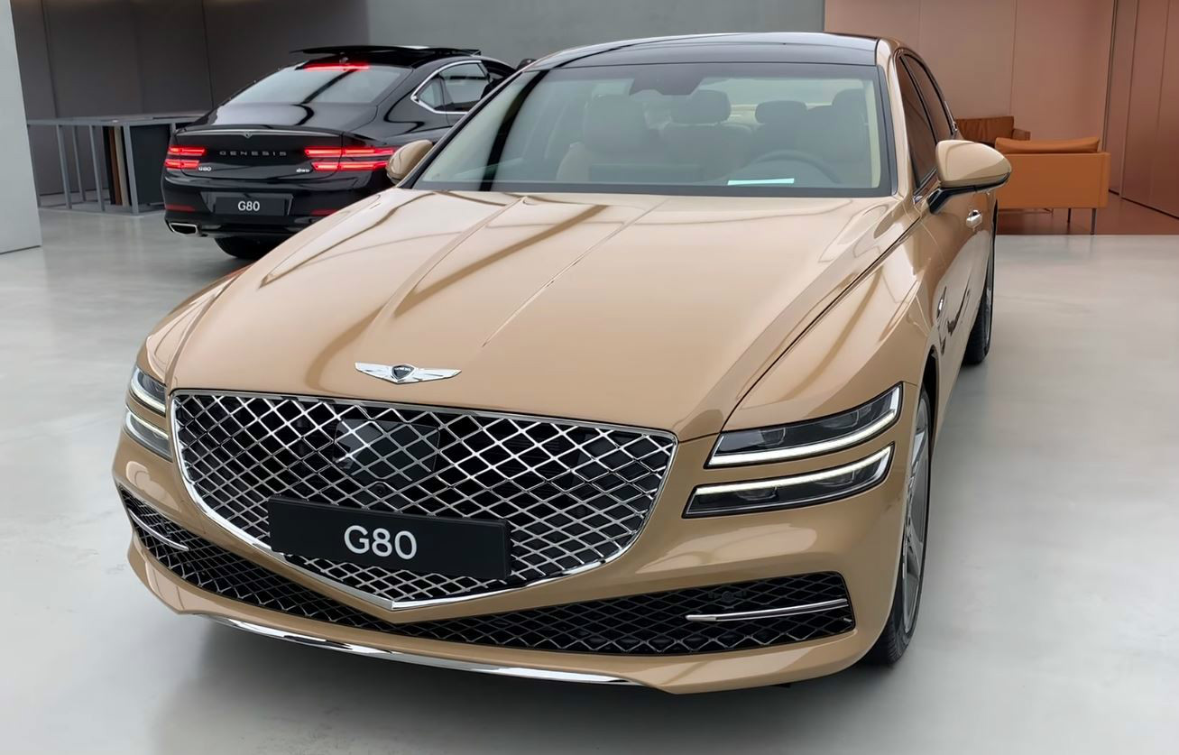 2021 Genesis G80 Live Pictures