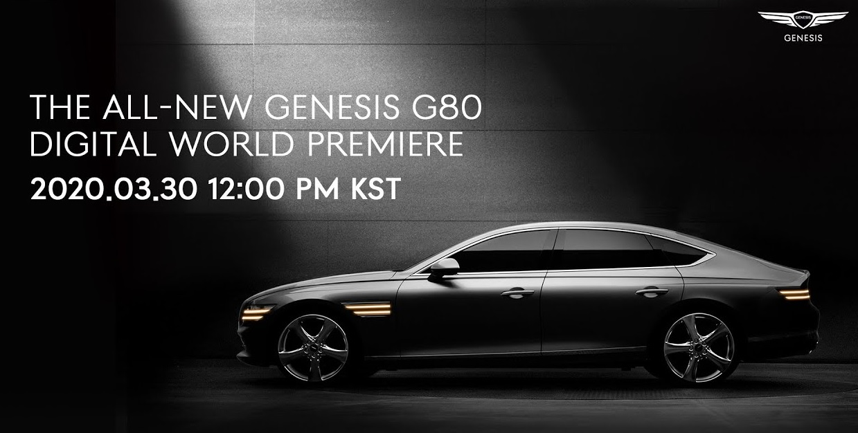 Genesis G80 World Premiere Set for March 30th