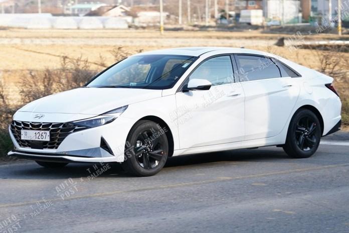 2021 Hyundai Elantra Caught in the Wild