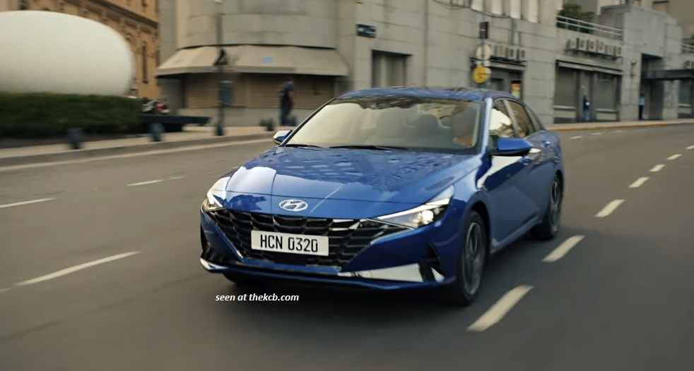 2021 Hyundai Elantra Leaked in a Promotional Video