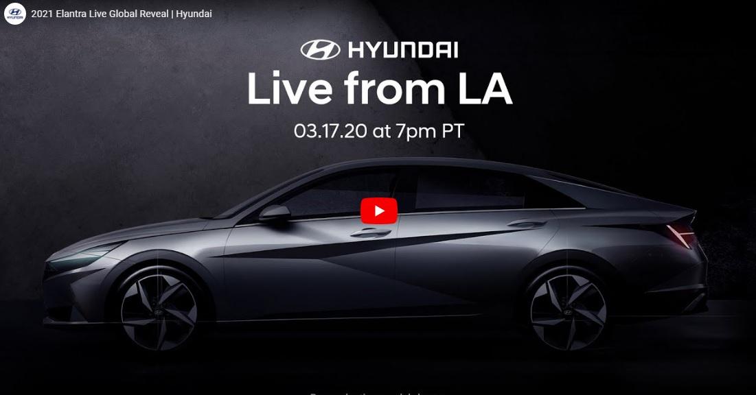 Watch the Livestream of 2021 Hyundai Elantra Here!