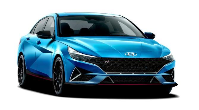 2021 Hyundai Elantra N Rendering