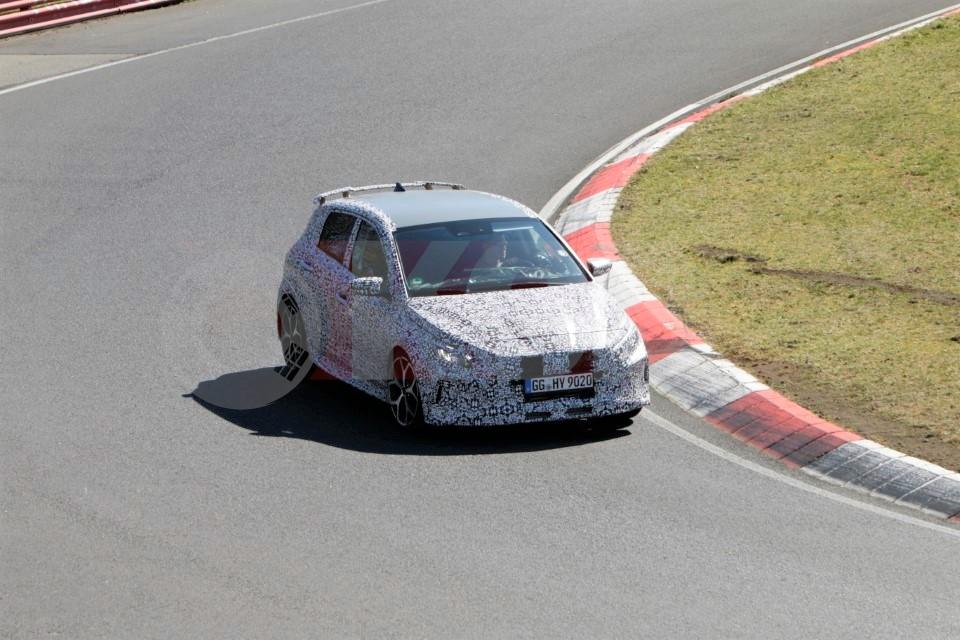 2021 Hyundai i20 N Drops Camouflage While Testing at the Nürburgring