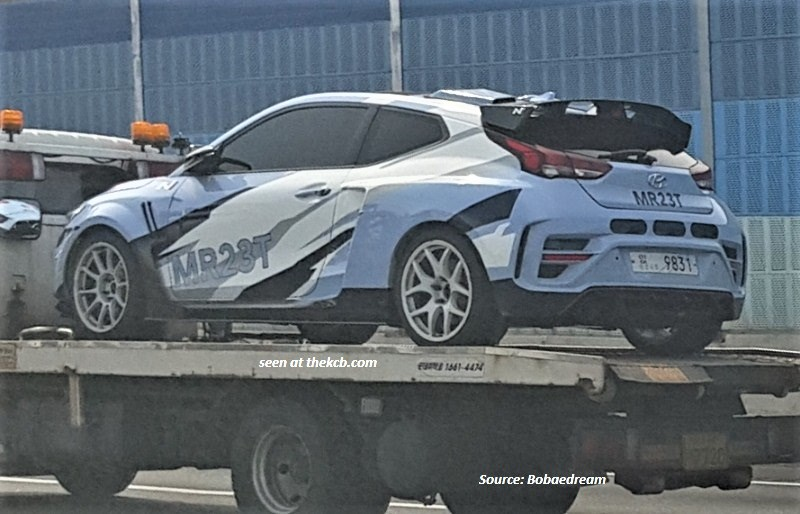 Hyundai Midship Test Mule Spied, to Have 2.3-liter Turbo +80 hp Electric Motor