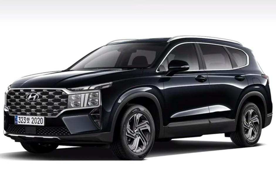 2021 Hyundai Santa Fe Facelift Rendering