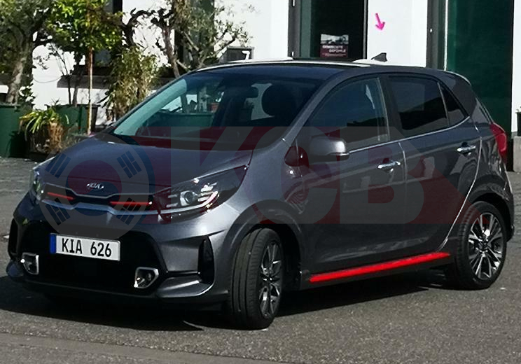 Kia Picanto Facelift Caught Completely Undisguised we