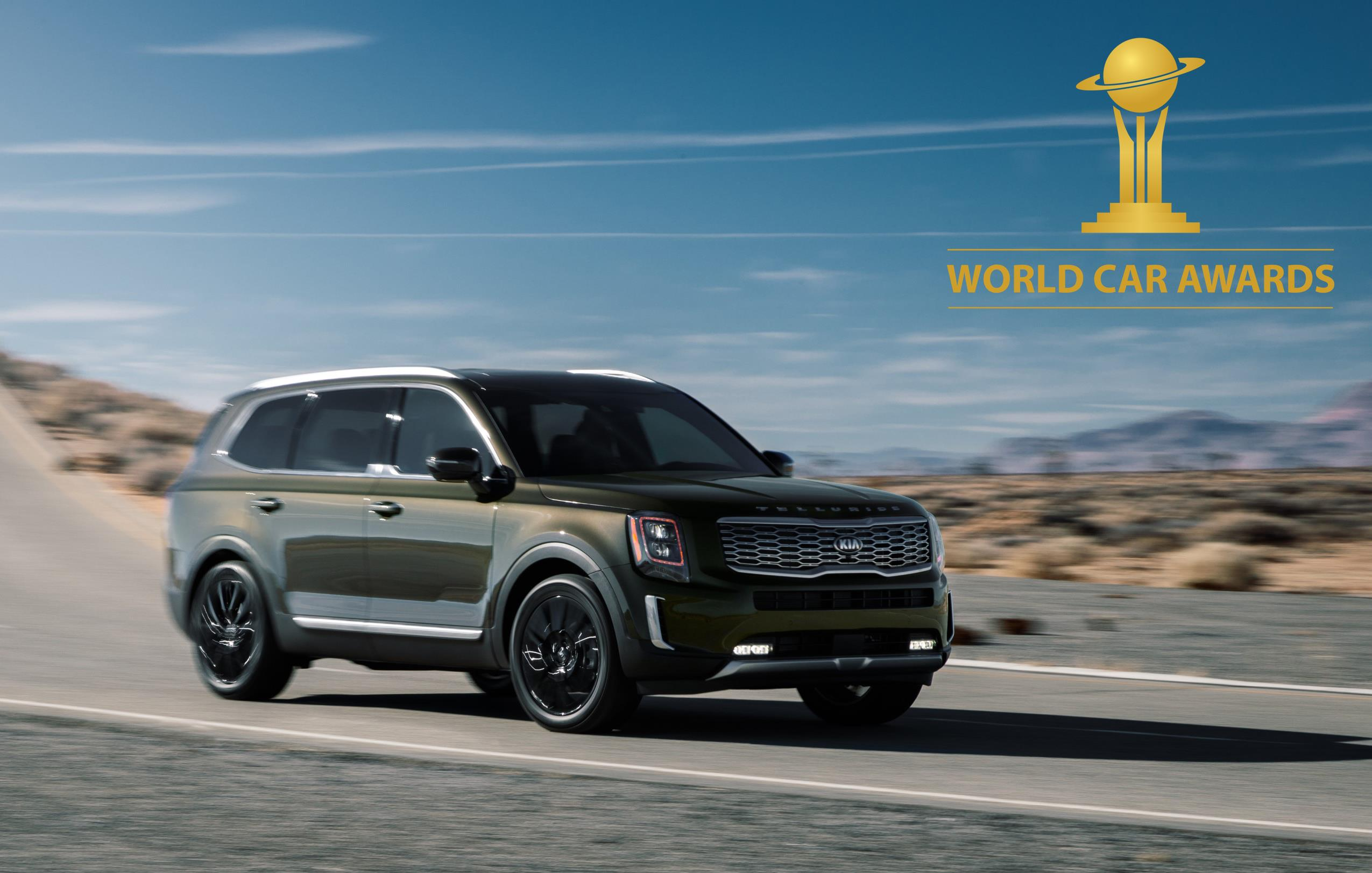 Kia Telluride Win 2020 World Car of the Year, Soul EV World Urban Car