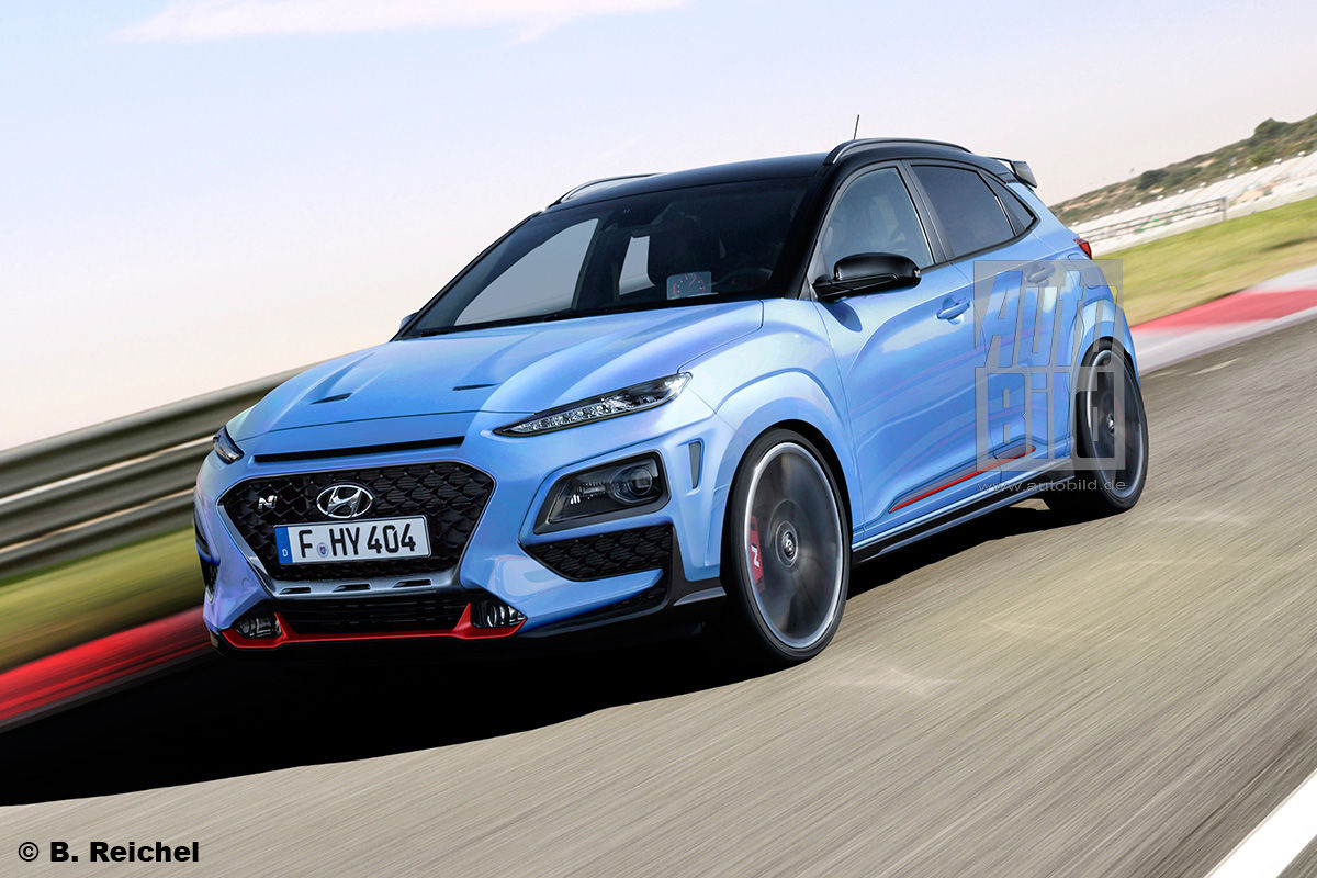 2021 Hyundai Kona N Rendering