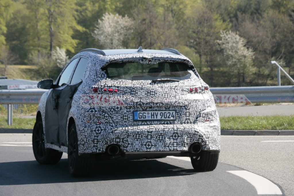 hyundai kona n spied with less camouflage (13)