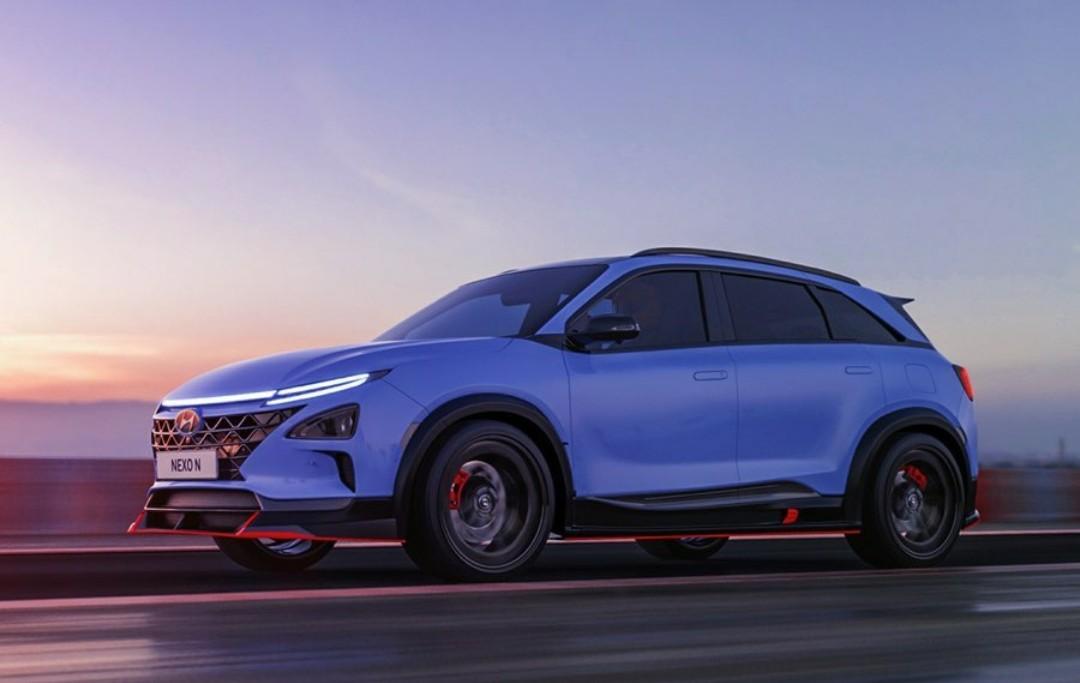 Hyundai Also Announces Fuel Cell NEXO N