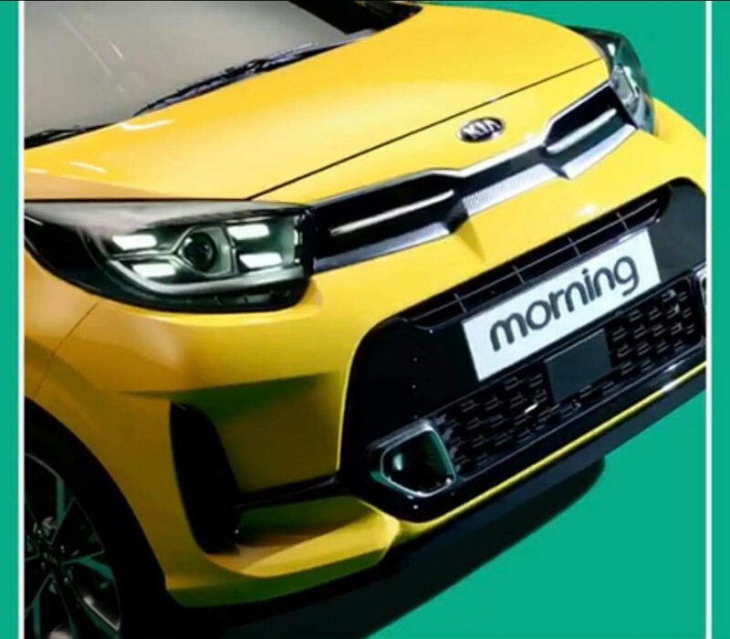 Kia Picanto Facelift Leaked Images