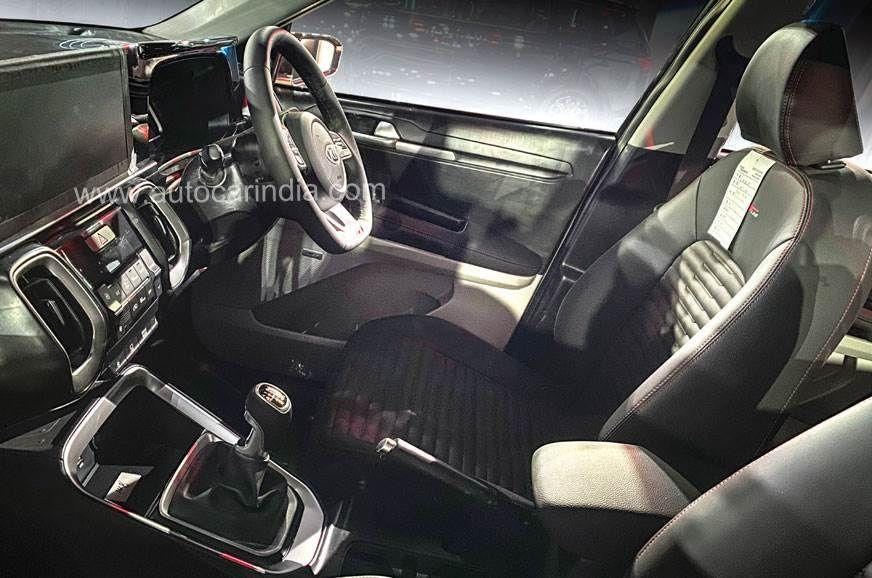Kia Sonet Small SUV Interior Follows Sorento Design