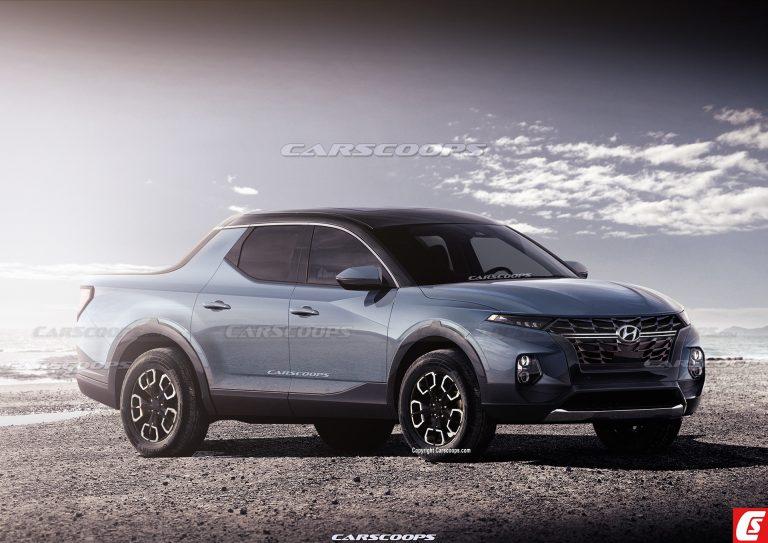2021 Hyundai Santa Cruz Rendering