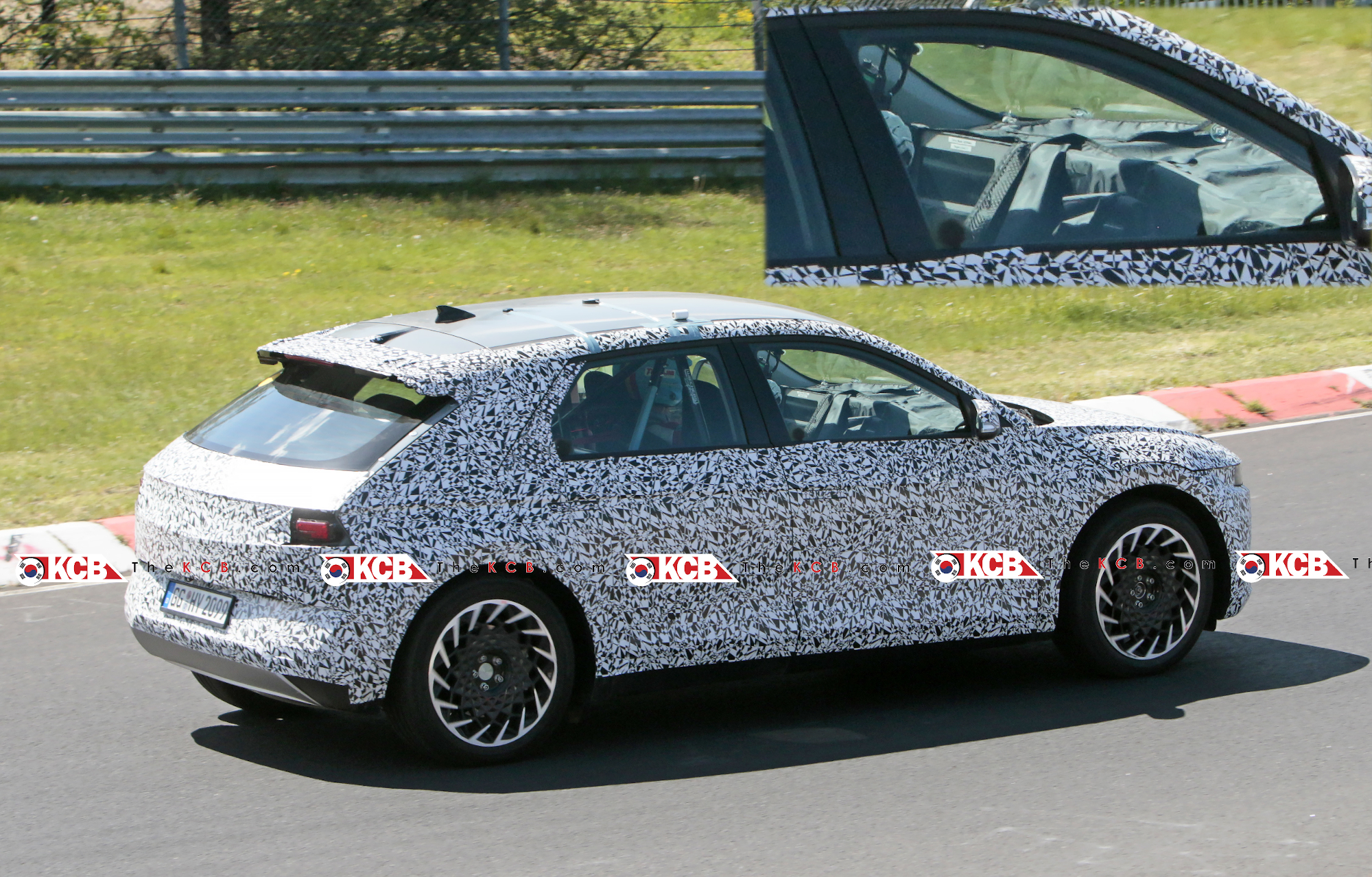 Hyundai 45 EV Spied at the Nürburgring, First Look Inside