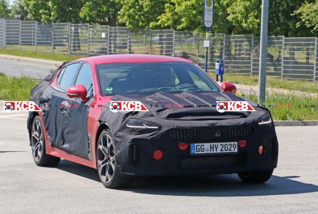 Kia Stinger facelift 3