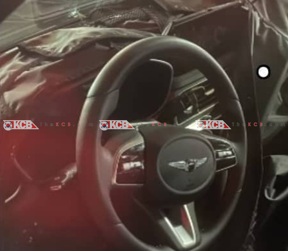 Genesis G70 Facelift Spied Inside