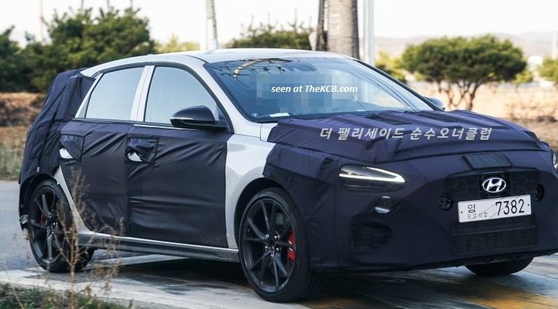 Hyundai i30 N Facelift Spied