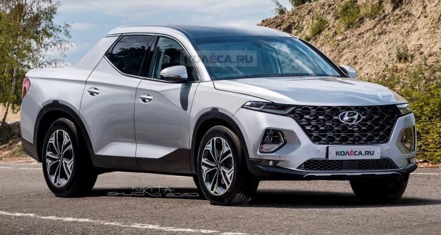 Hyundai Santa Cruz Rendering, Possible the Best to Date