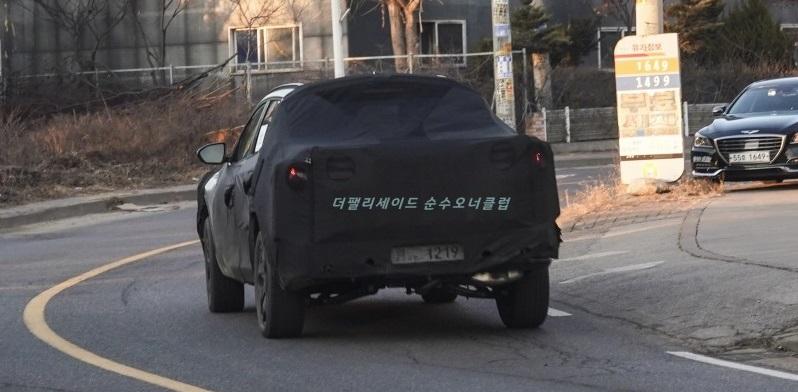 2021 - [Hyundai] Pickup  Hyundai-santa-cruz-spied-3