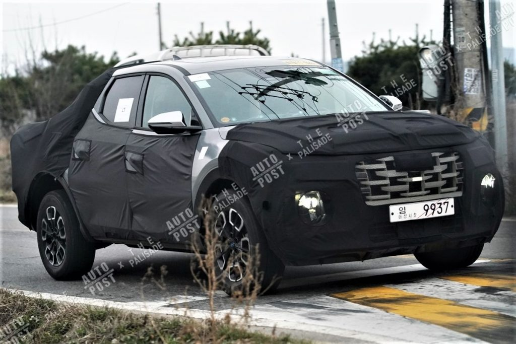 2021 - [Hyundai] Pickup  - Page 2 Hyundai-santa-cruz-spied-south-korea-4f-1024x683