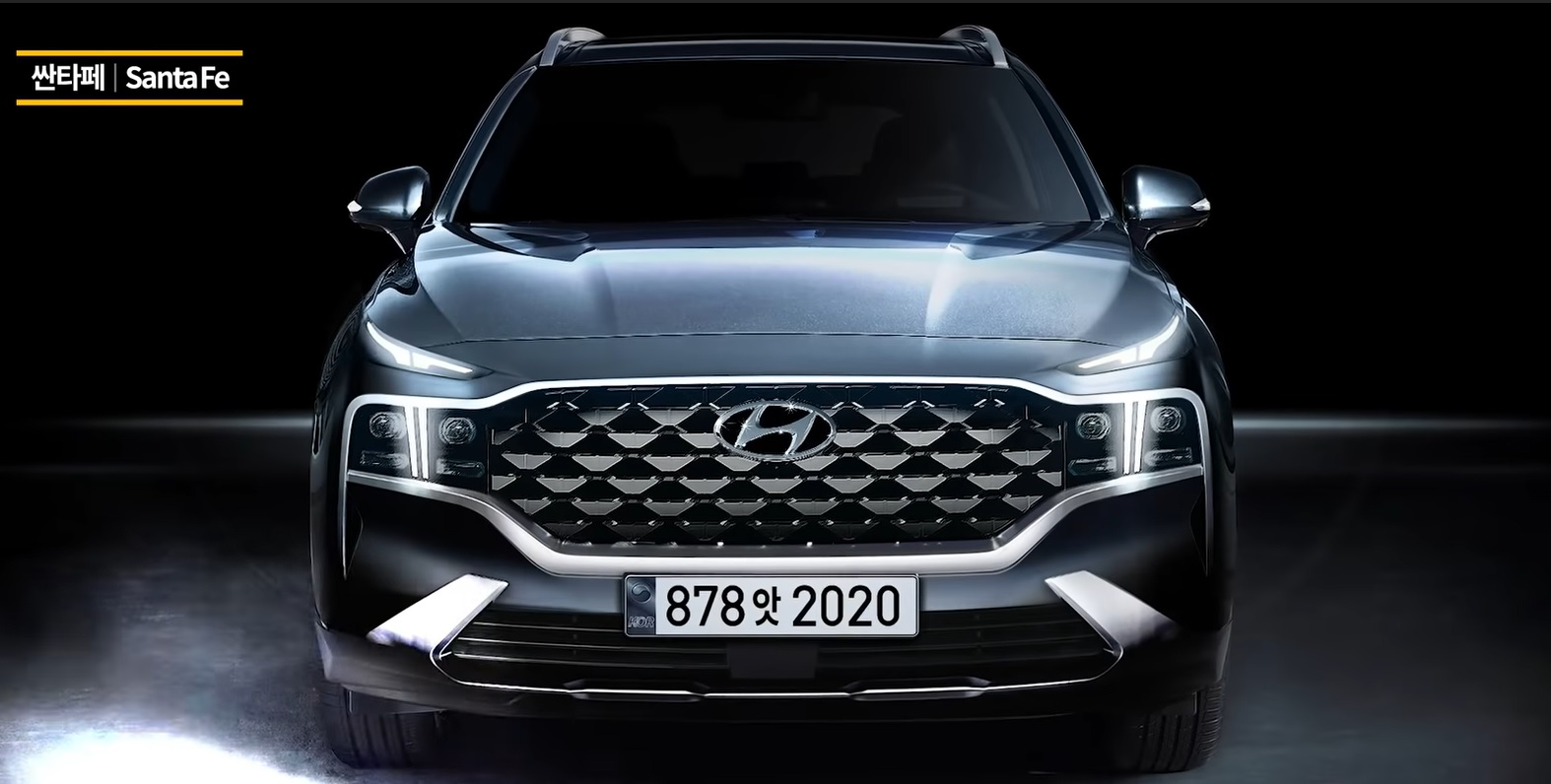 Hyundai Santa Fe Rendering Based on Official Teaser