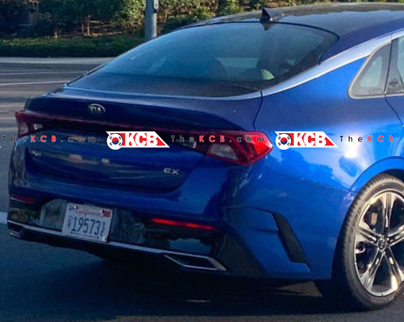 US-Spec Kia K5 Caught Undisguised