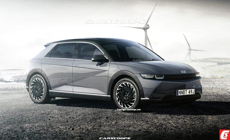 2021 Hyundai 45 EV Rendering