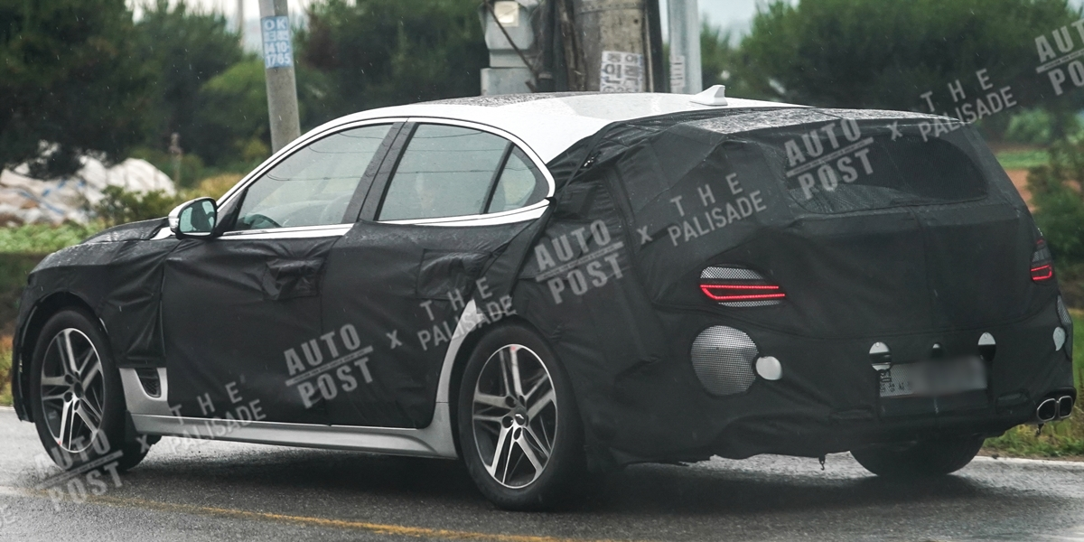 Genesis G70 Shooting Break is Real & We've Spied