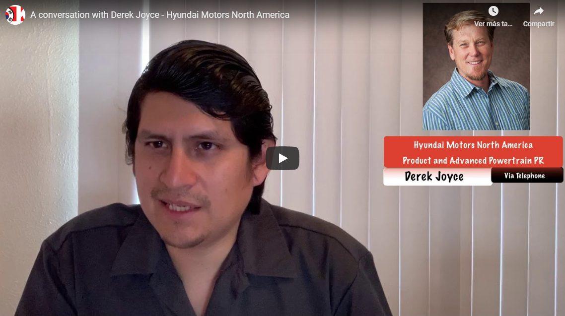 Conversation with Derek Joyce – Hyundai Motor America