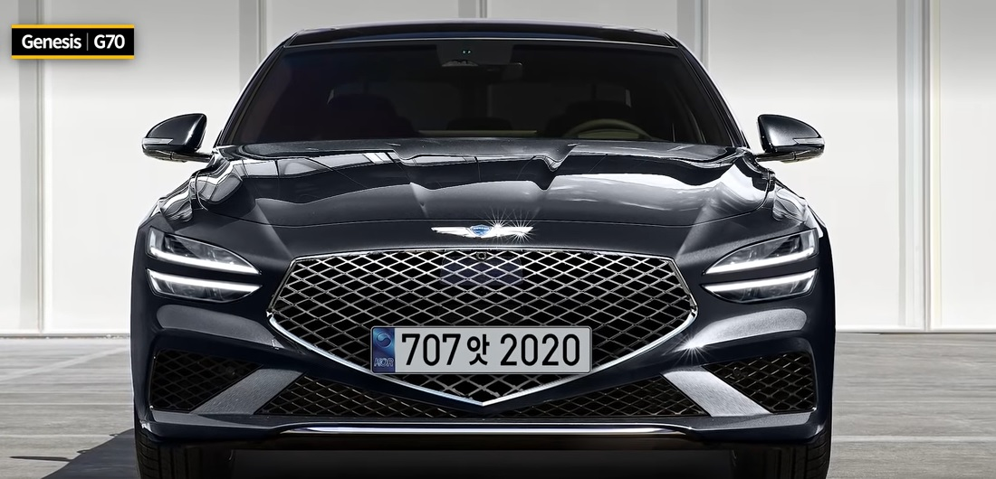 Genesis G70 Facelift Rendering