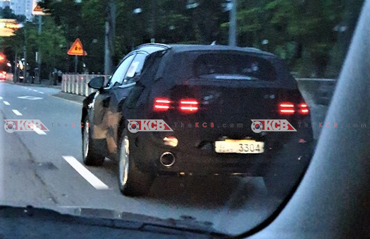 Genesis GV70 Sport Spied Once Again w/ Big Exhaust