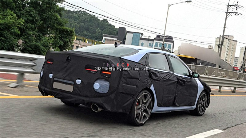 Hyundai Elantra N Spied for the First Time