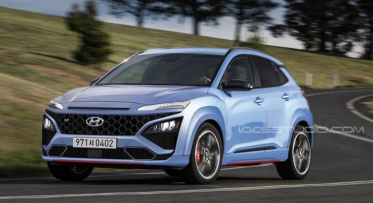 Hyundai Kona N Rendering