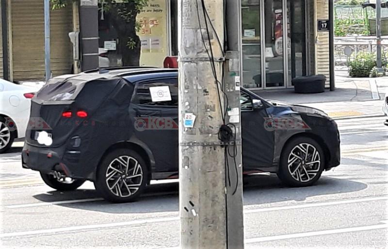 Hyundai Kona N-Line Spied
