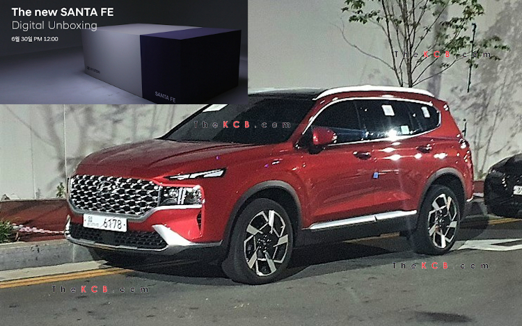 Hyundai Santa Fe Facelift to Have Digital Unboxing on June 30th