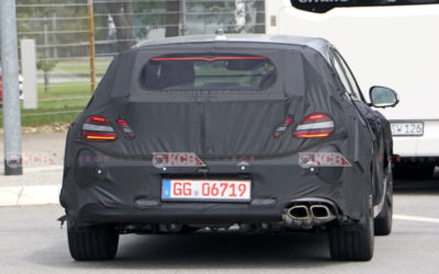Genesis G70 Shooting Brake Spied in Europe
