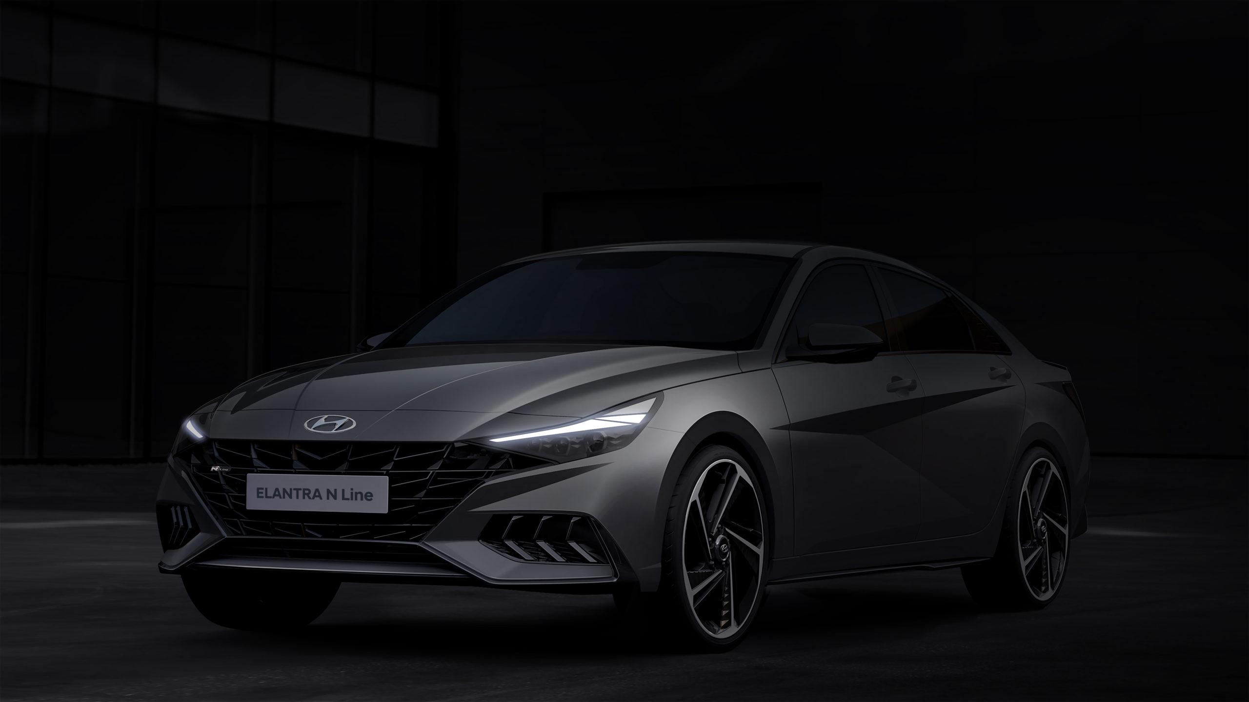 Hyundai Motors unveils Elantra N Line Renders