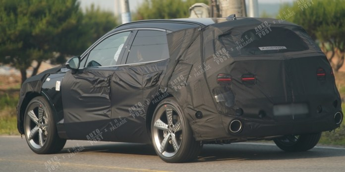 Genesis GV70 Sport Spied Ahead October Debut