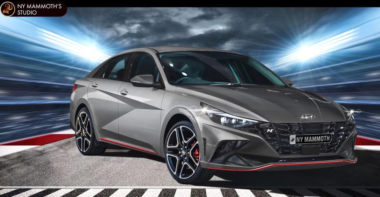 Hyundai Elantra N Rendering