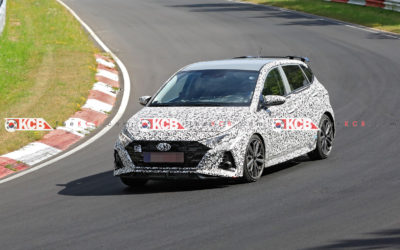 More i20 N Pictures Playing Hard at Nürburgring