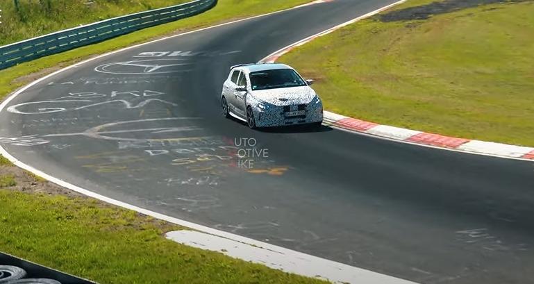 Listen to Hyundai i20 N Roar at the Nürburgring