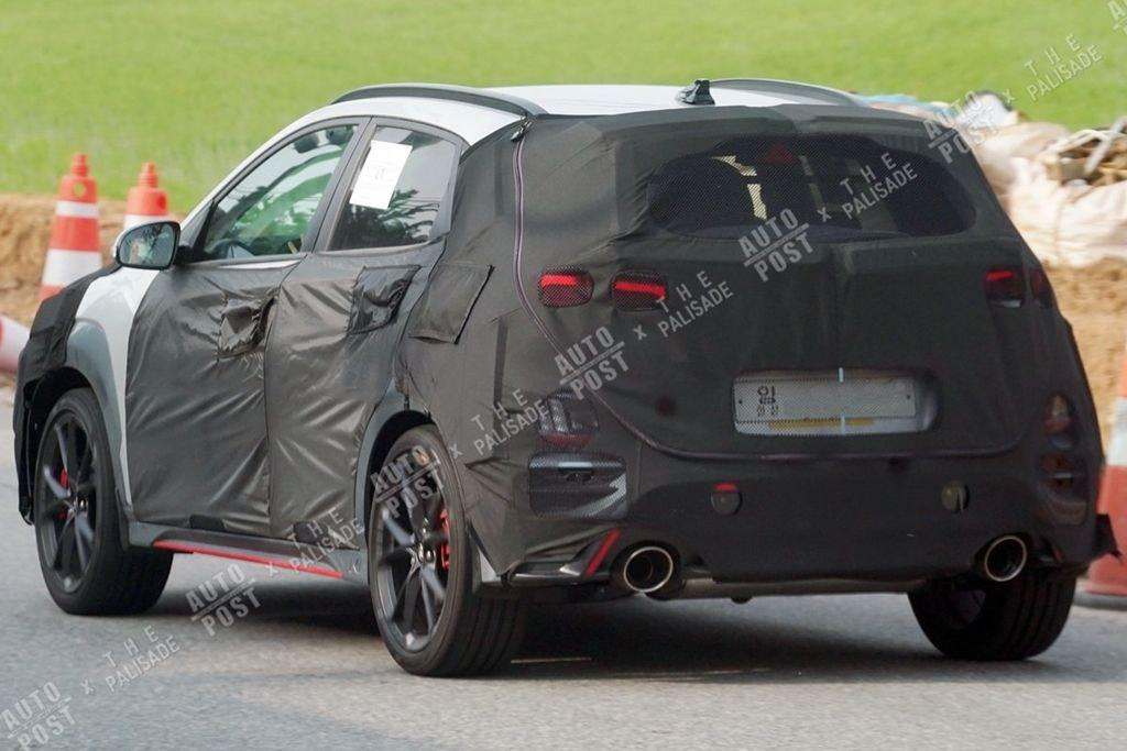 Hyundai Kona N Spied Ready for Production