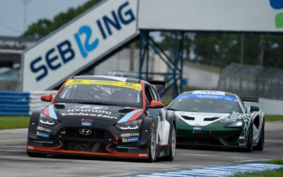Hyundai Dominates IMSA Michelin Pilot Challenge TCR Class at Sebring