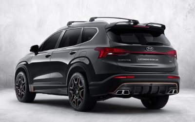 Hyundai Santa Fe N Performance Parts Released
